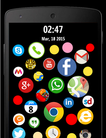 Bubble-Screenlock-Launcher