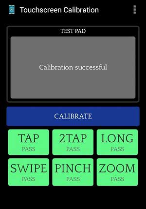 Touchscreen calibration